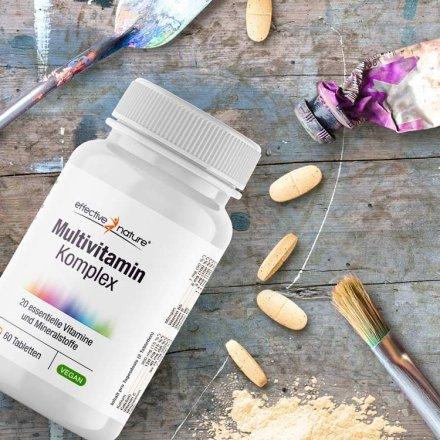 Multivitamin Komplex mit 20 wichtigen Nährstoffen