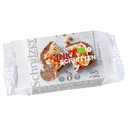 Inka-Schnitten - Glutenfreies Bio-Schnittbrot