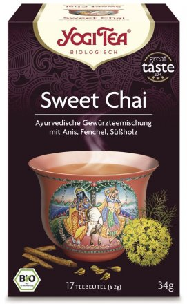 Sweet Chai Tee mit ayurvedischen Gewürzen