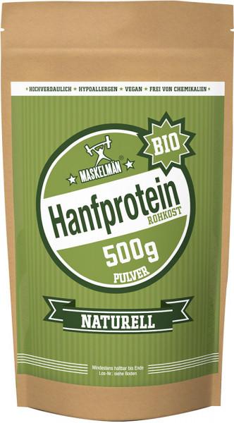 Maskelmän Hanfprotein Pulver Naturell - Bio