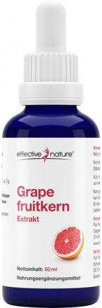 Grapefruitkernextrakt mit Pipette - 50ml