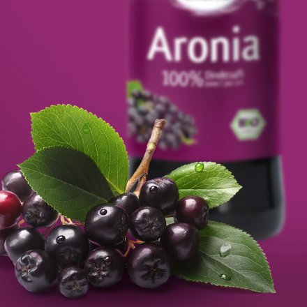 Aronia Saft 100% - Bio