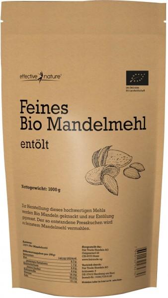 Mandelmehl entölt - Bio - 1000g