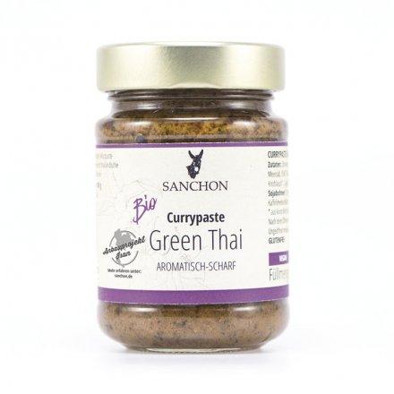 Green Thai Currypaste - Sanchon - Bio - 190g