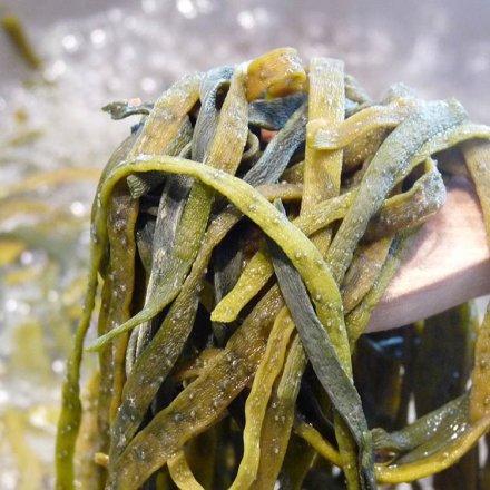 Meeres-Spaghetti in Bio-Qualität