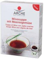 Misosuppe mit Meeresgemüse - Arche - Bio - 4 x 15g
