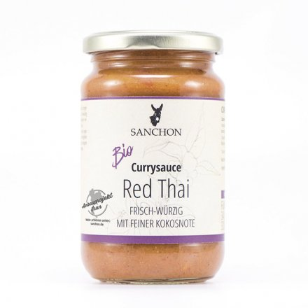 Red Thai Currysauce - Sanchon - Bio - 320ml