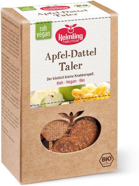 Rohkost Taler Apfel-Dattel - Bio - 100g