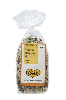 Glutenfreies 3-Korn-Mandel-Müsli - Bio