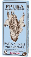 Glutenfreie Radiatori aus Mais - Bio-Qualität
