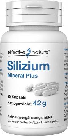 Silizium Kapseln Mineral Plus – 90 Stk. - 42g