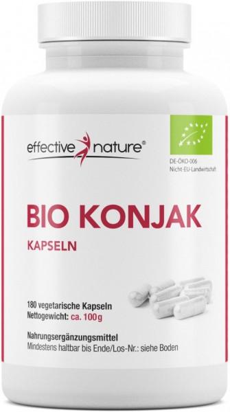 Konjak Kapseln - Bio - 180 Stk. - 100g