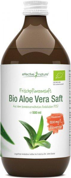 Aloe Vera Saft - Bio - 500ml