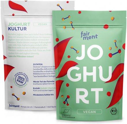 Mehrteiliges Joghurt-Set - vegan
