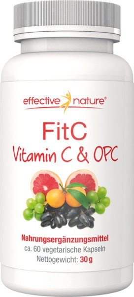 FitC - Vitamin C + OPC Kapseln - 60 Stk. - 30g