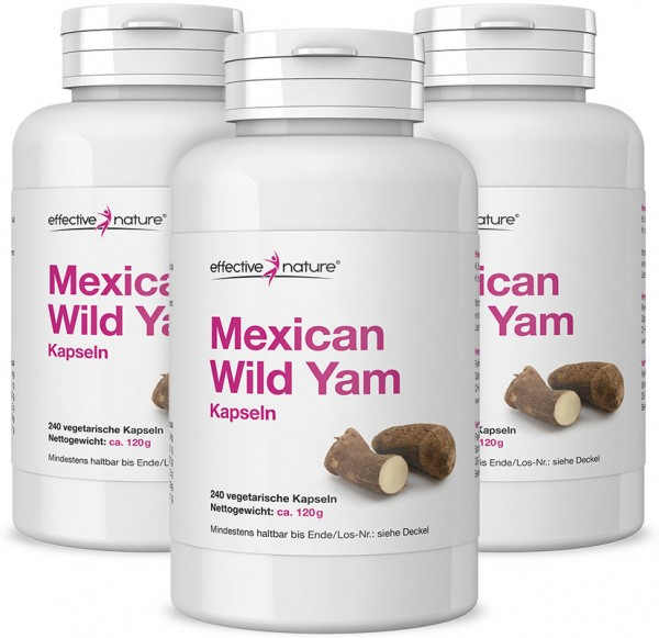 Mexican Wild Yam - Sparpaket