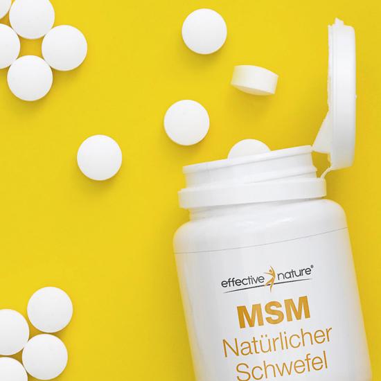 MSM praktische Tabletten