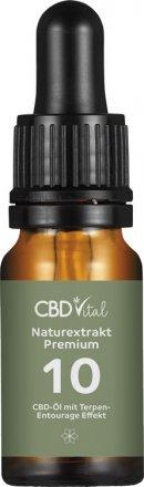 CBD Naturextrakt PREMIUM Öl 10% - 10ml