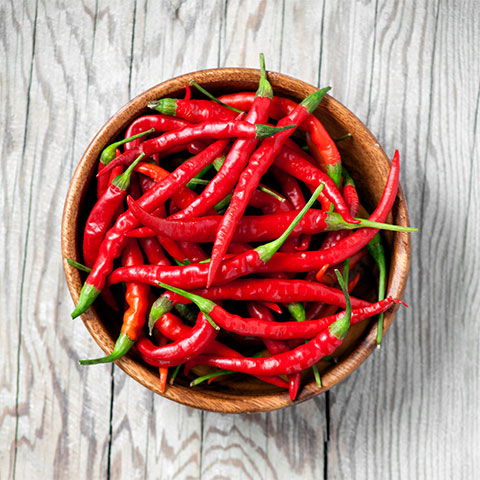 Capsaicin aus Chili