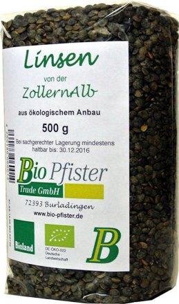 Alb-Linsen Gesund & Leben - Bio - 500g