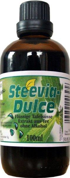 Steevia Dulce - Flüsigextrakt aus Stevia - 100ml