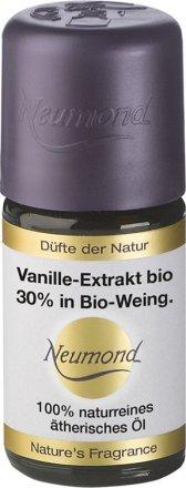 Vanille-Extrakt bio 30% in Bio-Weingeist - ätherisches Öl - 5ml