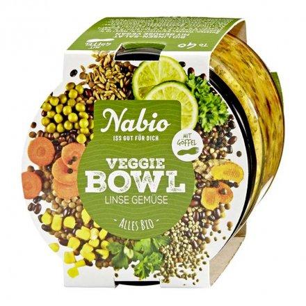 Veggie Bowl Linse Gemüse - Nabio - Bio - 235g