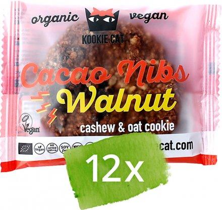 Cookie Kakao-Walnuss - Bio - 12 x 50g