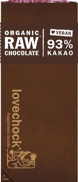 Lovechock Tafel 93% Kakao - Bio - 70g