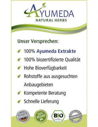 Konzentrierter Bio-Curcuma-Extrakt in Kapseln