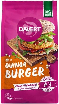 Quinoa Burger - Bio - 160g - Davert