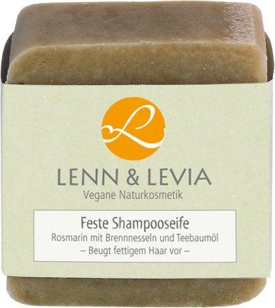 Festes Shampoo mit Rosmarin, Brennnessel und Teebaumöl