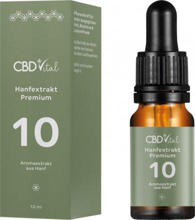 Hanfextrakt Premium - Aromaextrakt 10% - 10ml