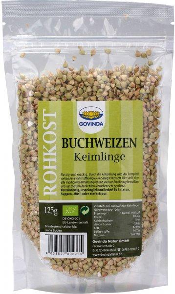 Buchweizenkeimlinge - Bio - 125g