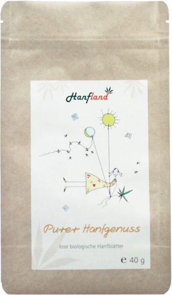 Hanftee - Purer Hanfgenuss - Bio - 40g