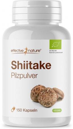 Shiitake Pulver - 150 Kapseln