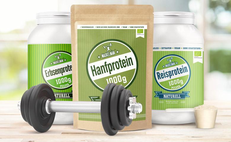 Alle 3 Proteinprodukte auf einen Blick
