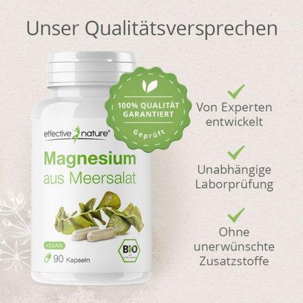 Magnesium aus Meersalat