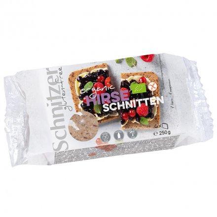 Schnittbrot - Hirse-Schnitten - Glutenfrei - Bio - 250g