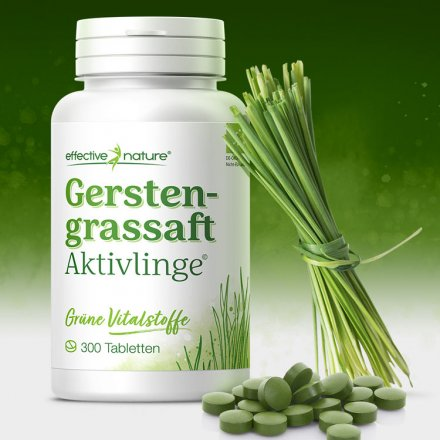 Gerstengrassaft-Tabletten