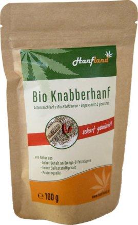 Scharfer Knabberhanf
