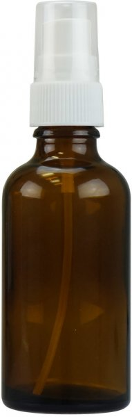 50ml Braunglasflasche mit Zerstäuberpumpe