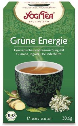 Grüne Energie - Ayurvedische Grünteemischung