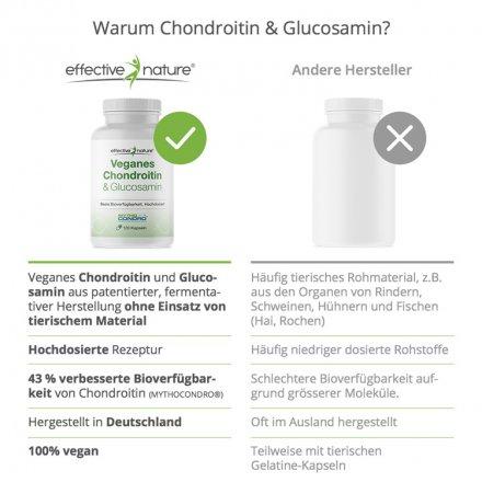 Veganes Chondroitin & Glucosamin