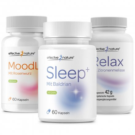 Moodlift, Relax and Sleep