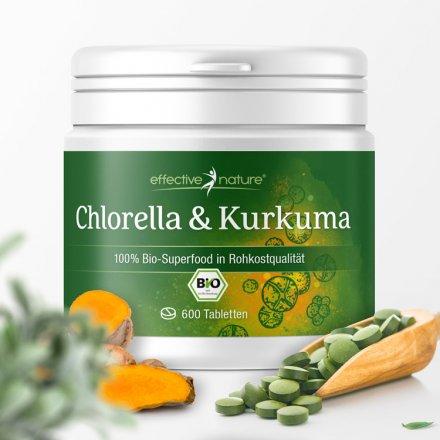 Chlorella & Kurkuma - der Bio-Superfood-Mix