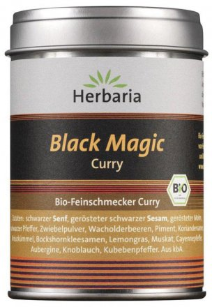 Black Magic Curry - das Bio-Feinschmecker Curry