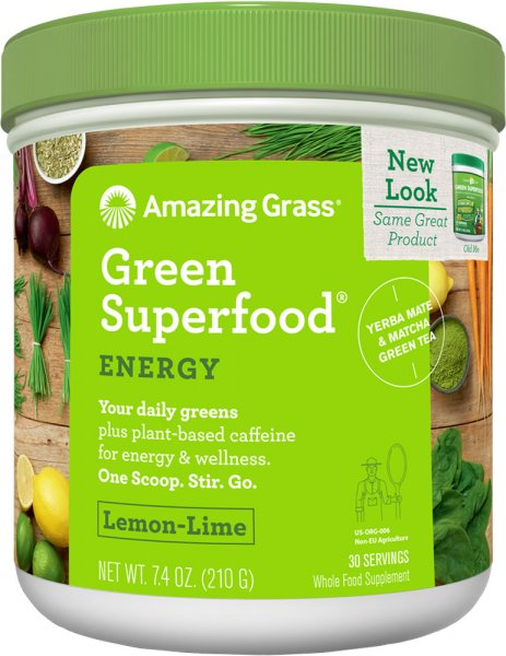 Amazing Grass - Energy Lemon Lime - 210g