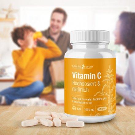 Vitamin C - hochdosiert und natürlich