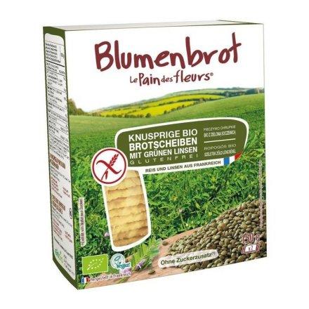 Glutenfreies Bio-Brot aus Reismehl - mit grünen Linsen